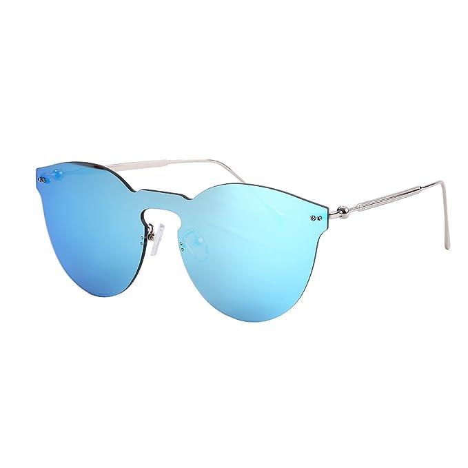 Amazon.com: Espejo anteojos de sol para mujer, Ojo de gato ...