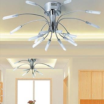 G4 10W Deckenleuchte Modern Entwurf Krakenform Metall Basis Deckenstrahler  16 Leuchten Deckenbeleuchtung Zum Wohnzimmer Schlafzimmer Esszimmer