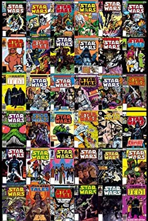STAR WARS Comic Covers Maxi Poster 61x91.5cm FP2894