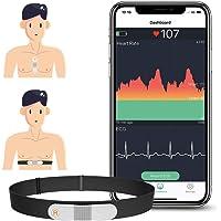 ViATOM Monitor de Ritmo Cardíaco Cinturón Torácico, Bluetooth ANT+, Monitor de ECG…