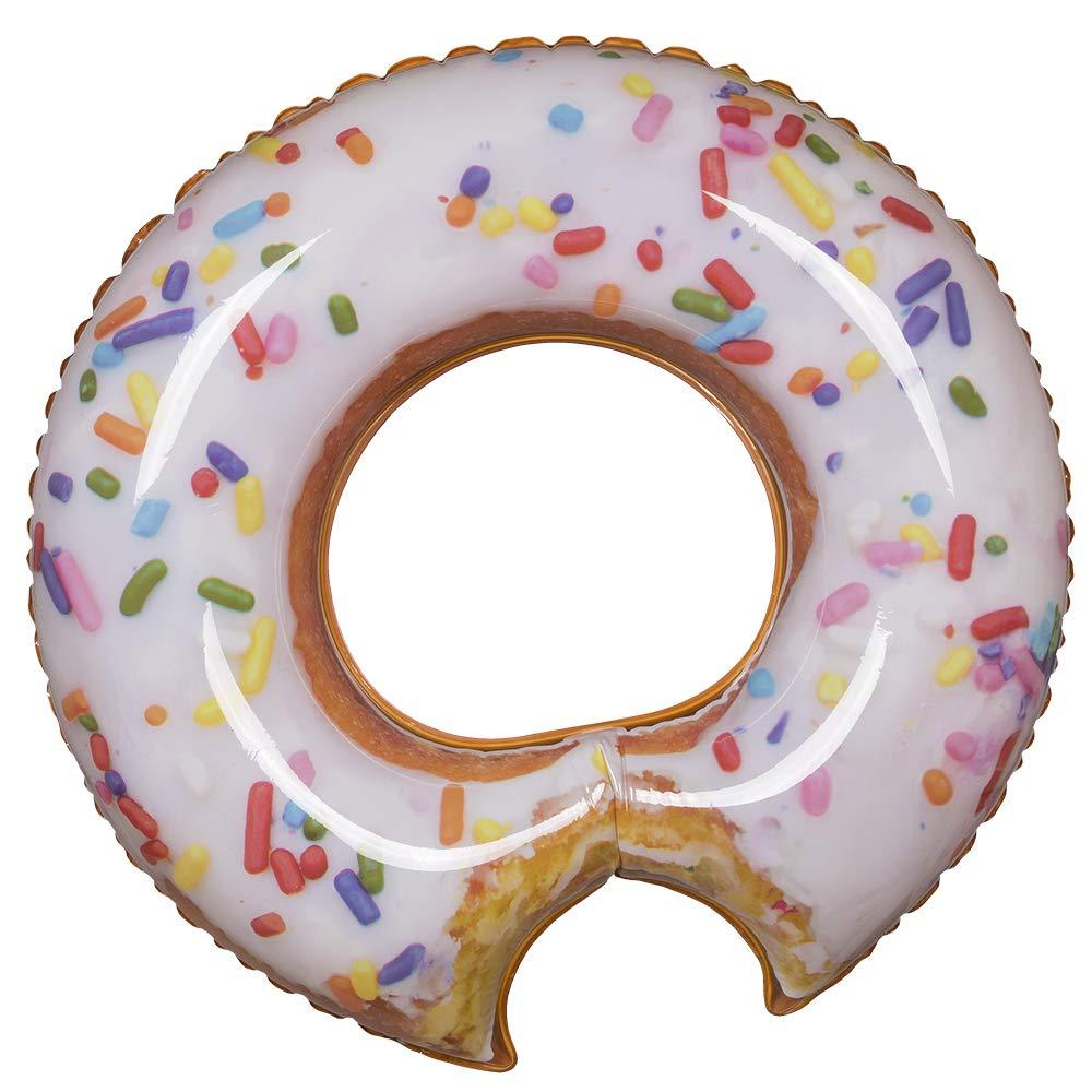 OOTB 91/4179 - Flotador Hinchable, diseño de Donut, Color Rosa ...