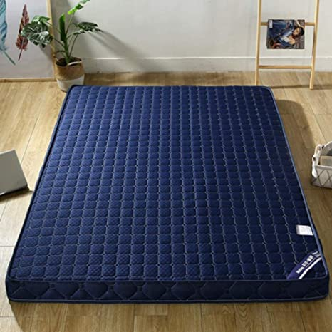 WNBED Tatami Bed Mattress Folding Floor Sleeping Mattress Mat Breathable Soft Thick Futon Mattress Single Double Mattress for Living Room Color : A, Size : Twin