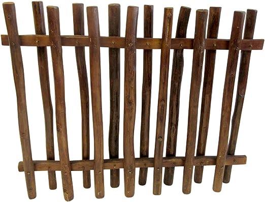 Valla de madera de teca, 36