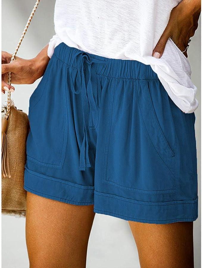 Leggings Cortos Mujer Fitness Cintura Alta para Running Yoga Ejercicio Fossen Pantalones Cortos Mujer Talla Grande Tie Dye Deporte