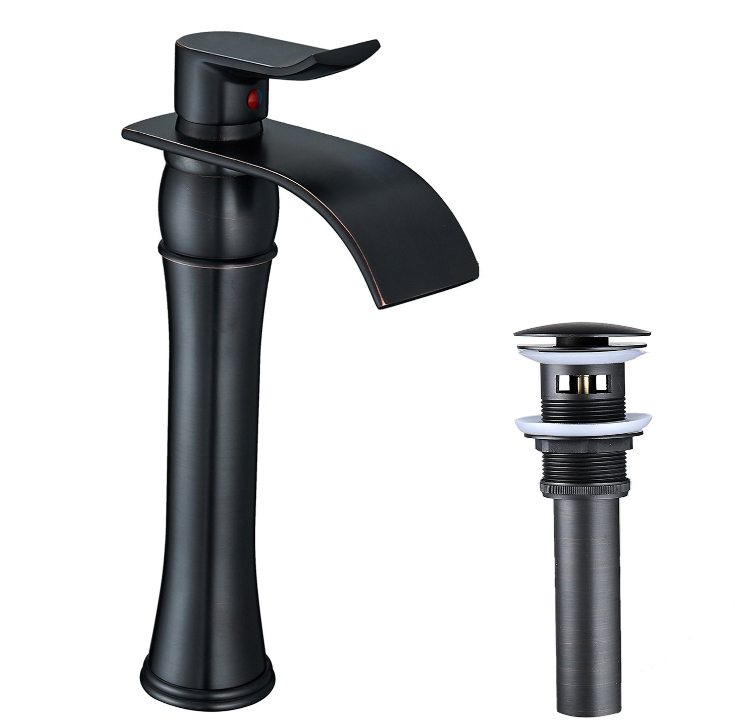 BWE Waterfall Spout Single Handle One Hole Oil Rubbed Bronze ...