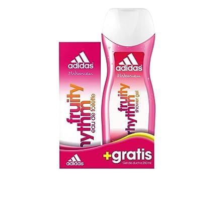 Adidas Woman Fruity Rhythm Eau De Toilette Spray 50ml Set 2 Piezas