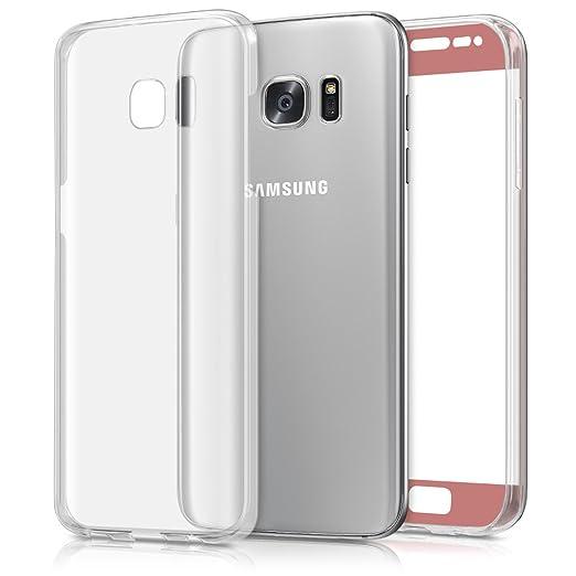 46 opinioni per kwmobile Cover trasparente per Samsung Galaxy S7 edge Custodia Full Body in
