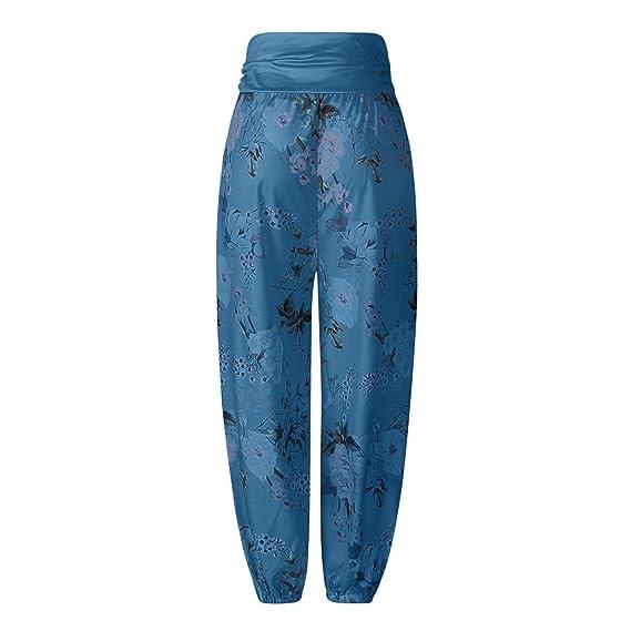 Amazon.com: Thenxin - Pantalones elásticos para mujer ...