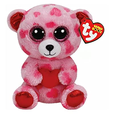 Ty Beanies Boos Sweetikins - Bear with Heart: Toys & Games