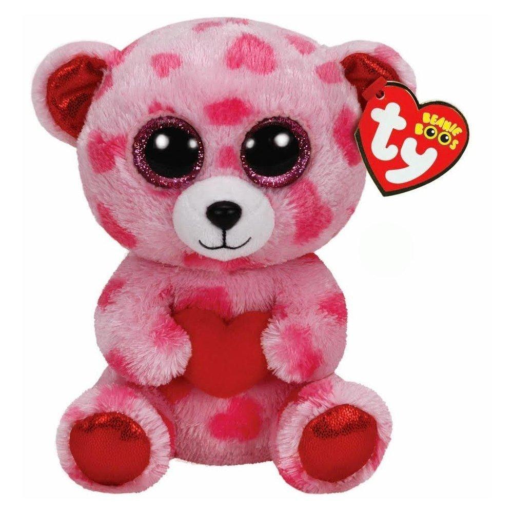 Ty Beanie Boos Sweetikins Bear with Heart Ty Beanies SG/_B00MGV9GR4/_US