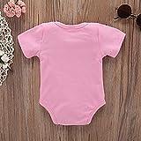 Baorong Summer Newborn Baby Girl Boy Cotton Letter