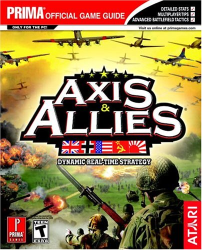 Price comparison product image Axis & Allies (Prima's Official Strategy Guide)