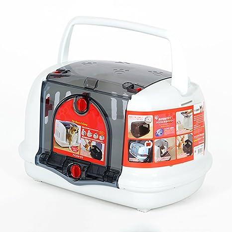 PLDDY Caja de Aire para Mascotas, Jaula para Gatos, Caja de envío portátil para
