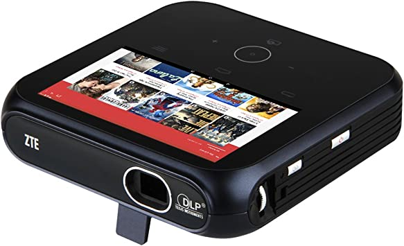 ZTE SPro MF97W - Mini proyector WiFi (100 lúmenes, RAM 1 GB, ROM 4 ...