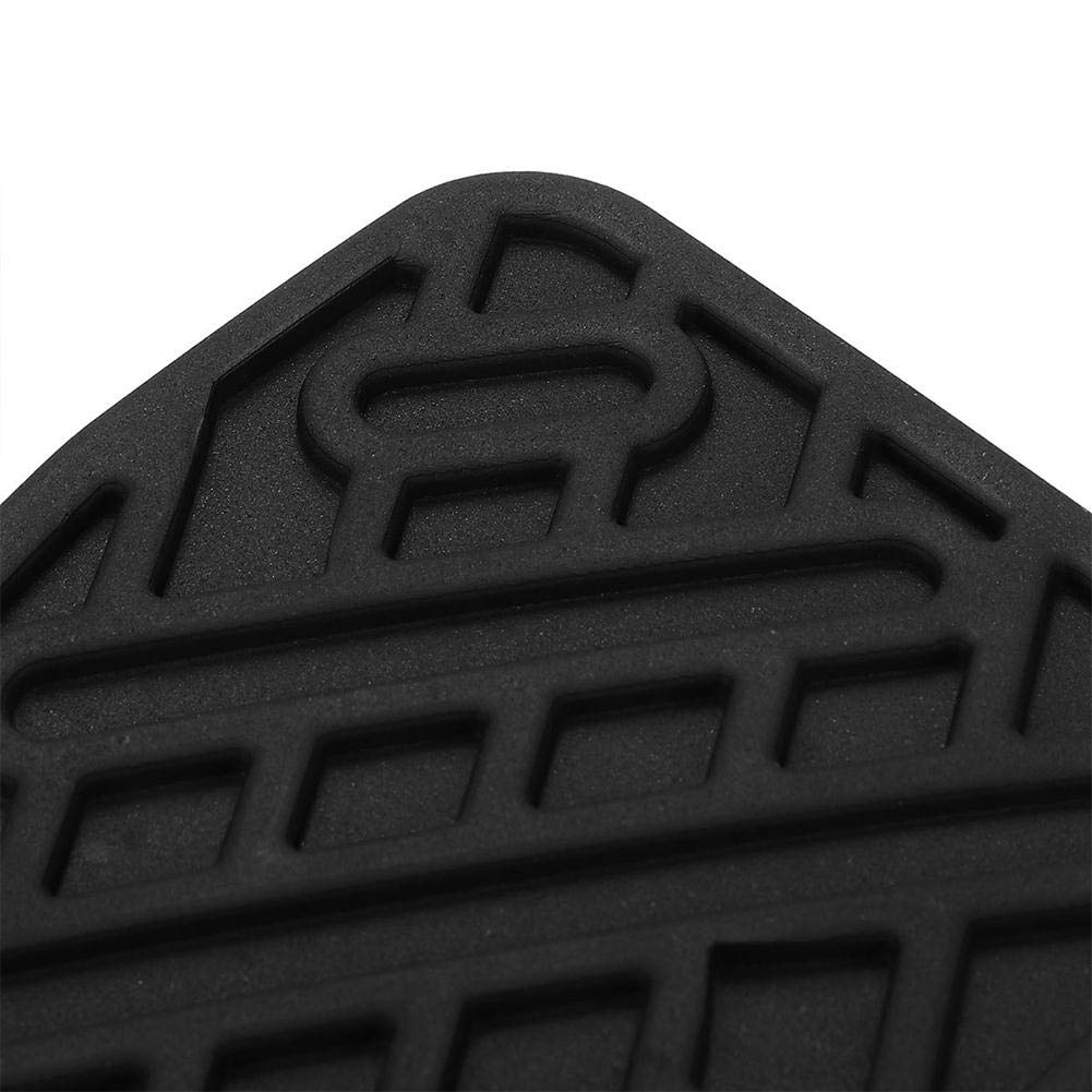und Kupplungspedal Pad Gummi Abdeckung f/ür Fahrzeug Nissan Qashqai ETbotu 1 Paar OE 46531JD00A Brems