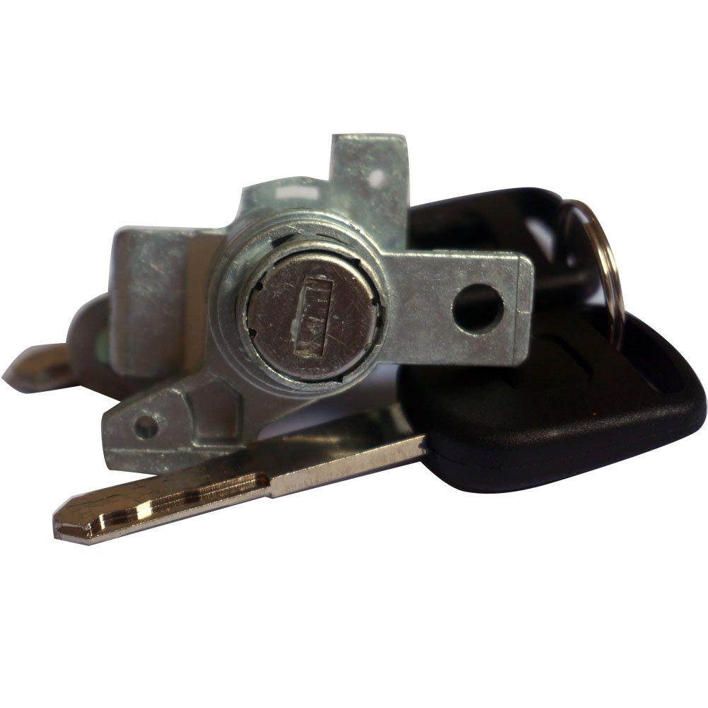 Left Driver Side Door Lock Cylinder W//2 Keys 72185-SHJ-A01 For Odyssey 2005-2010