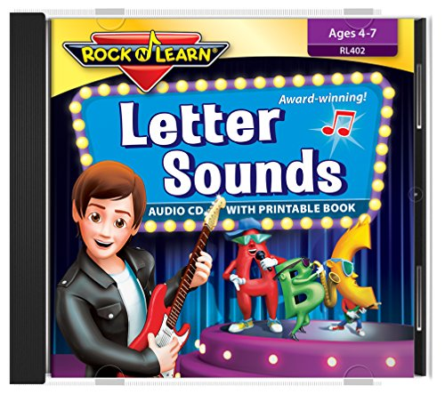 Letter Sounds Audio CD with Printable Book by Rock 'N Learn