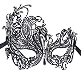 Coxeer Pretty Elegant Lady Masquerade Halloween Party Mask