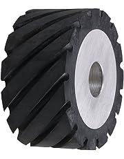 CNBTR Belt Grinder Sander Making Grinder Rubber Wheel 10x5x2.5cm for Belt Machine Polishing Machine