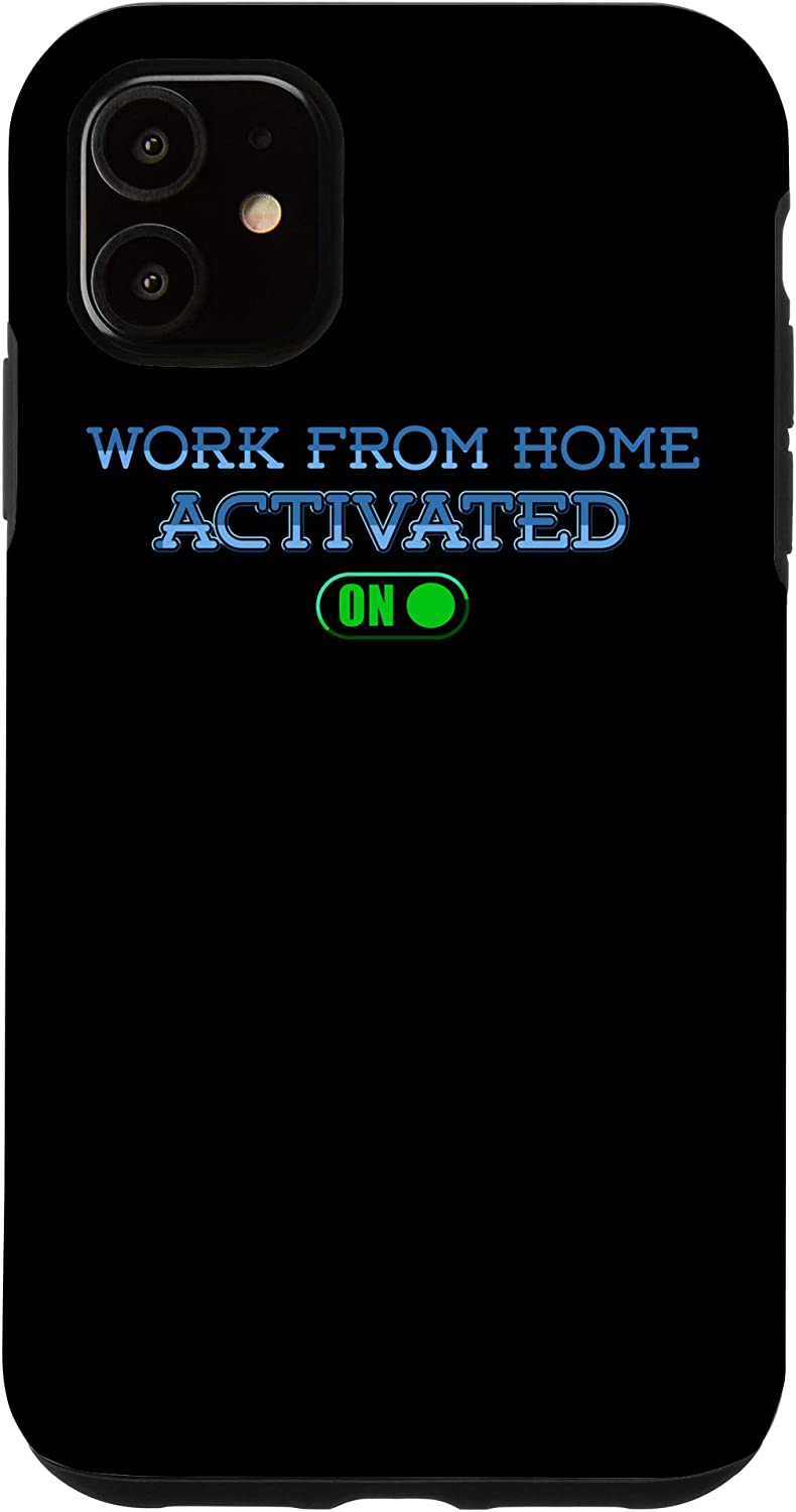 iPhone 11 Work From Home Activated On - Do Not Disturb Case