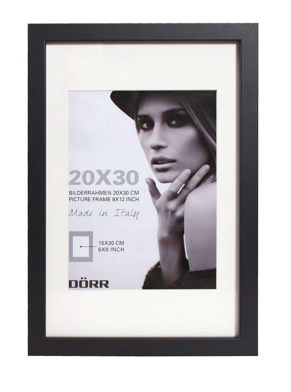 Dorr Wood Photo Frame with 16 x 24-Inch Insert, Black, 20 x 28-Inch ...