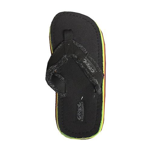 Cool Shoes, Sandali uomo, nero (nero), 39/40 EU