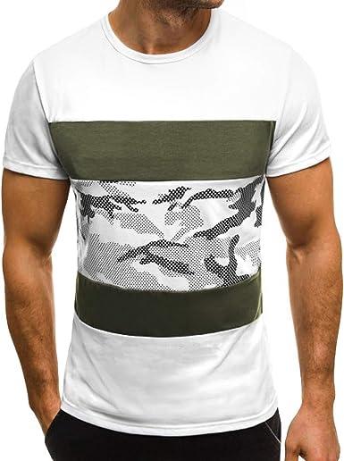 Camiseta para Hombre, YanHoo Tops de Impresión de La Moda de ...