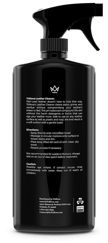 Amazon.com: TriNova - Limpiador de piel para sofá, interior ...
