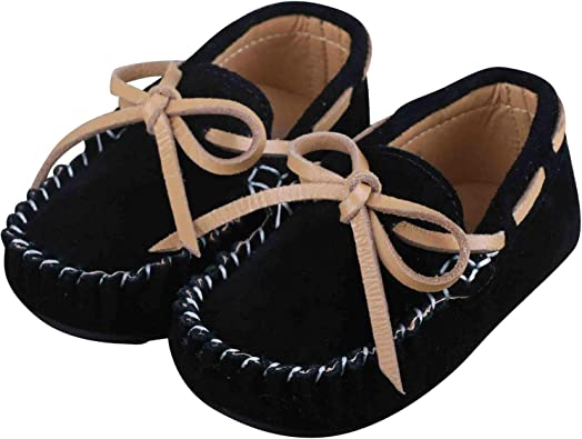 Kids Boys Girls Toddler Slip On Oxford Suede Flat Loafers Casual Shoes Moccasin