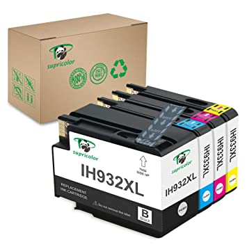 Amazon.com: supricolor HP 932 X L 933 X L Cartuchos de tinta ...