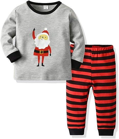 FBGood Pijama de bebé niña de algodón – Conjunto de Pijama ...