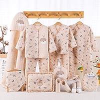 Banjvall 班杰威尔 纯棉婴儿衣服新生儿礼盒套装0-3个月6秋冬季初生满月宝宝用品礼物 加厚飞行犬 (加厚飞行犬C, 59码(0-6月)