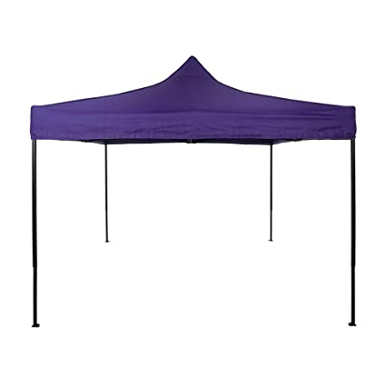 buy popular c12f2 bf85e American Phoenix Canopy Tent 10x10 foot Purple Party Tent Gazebo Canopy  Commercial Fair Shelter Car Shelter Wedding Party Easy Pop Up - Purple