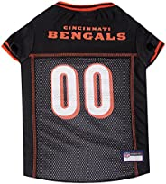 NFL Cincinnati Bengals Dog Jersey, X-Small