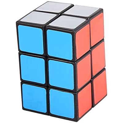 2x2x3 Black Cuboid Cube Twisty Puzzle Smooth: Toys & Games