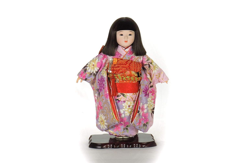 市松人形 13号わらべ人形日本人形 15-3   B07LB5PKNG