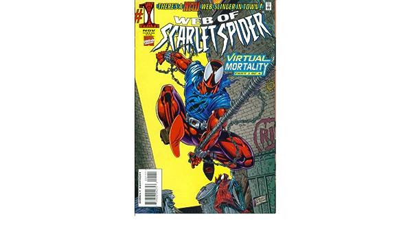 Web of Scarlet Spider DeFalco Dezago Volume 1 #1 Marvel Comics October 1995 NM