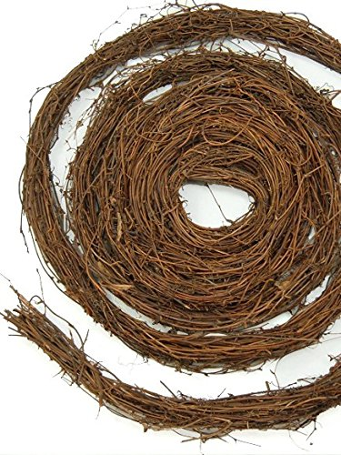 Richland Natural Grapevine Garland 15 feet Set of 12 by Richland
