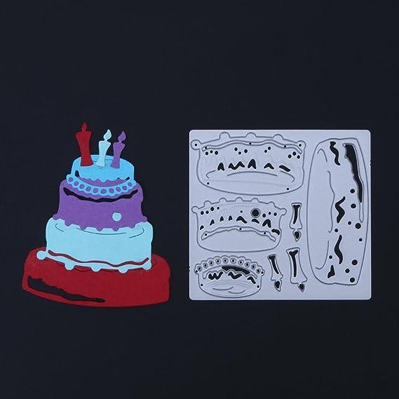 Amazon Mkchung Cake Joint Diy Metal Embossing Stencil Scrapbook