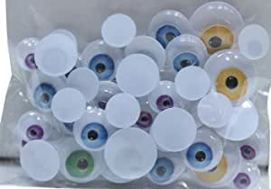 60 Count Crafter's Square Wiggle Monster Eyes (Pack of 2)