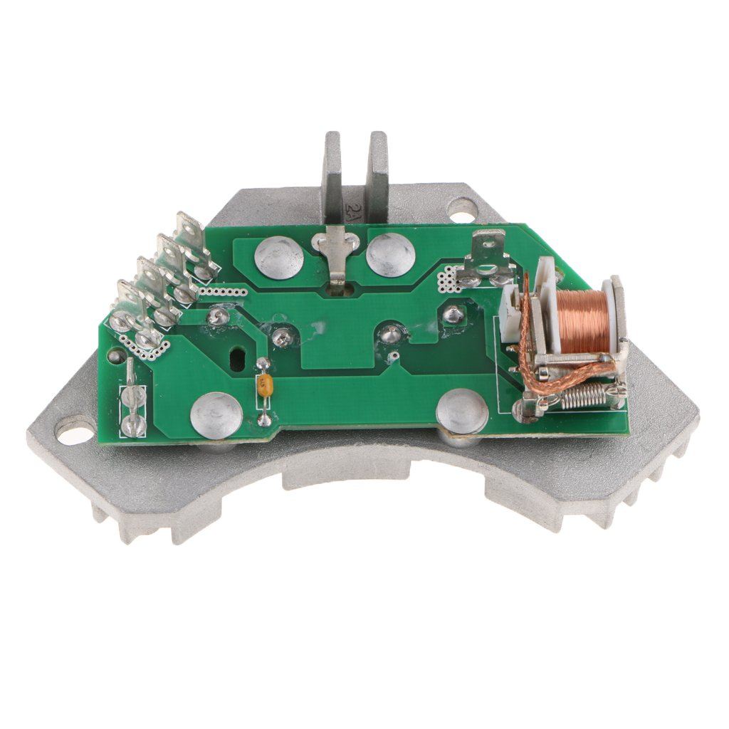 MagiDeal A/C Blower Motor Speed Control Resistor Silver