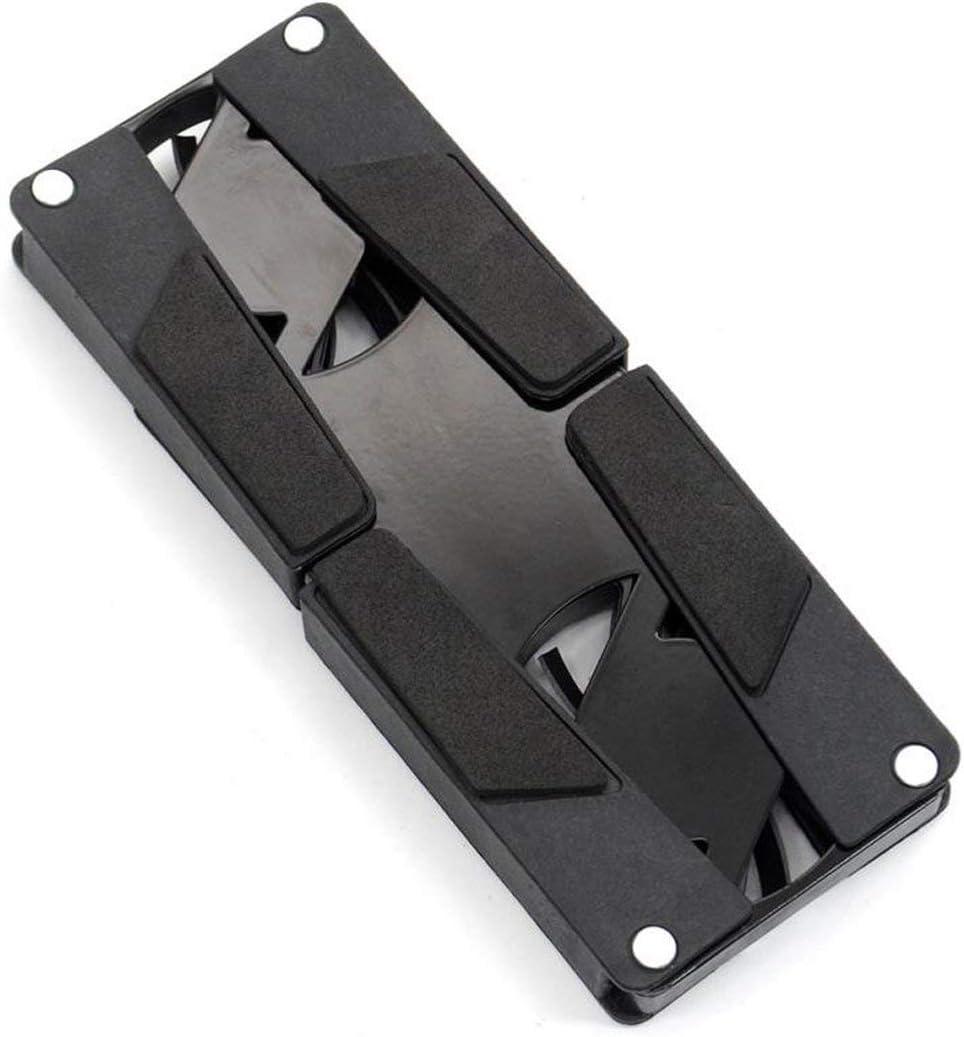 Swiftswan USB-L/üfter Tragbarer und praktischer Laptop K/ühler K/ühlkissen-Rack Dual-L/üfter-Laptop