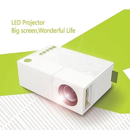 Amazon.com: WEILIANTE Mini LED HD Projector Home Theatre Cinema ...