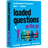 All Things Equal, Inc. Loaded Questions On The Go Card Game, Blue
