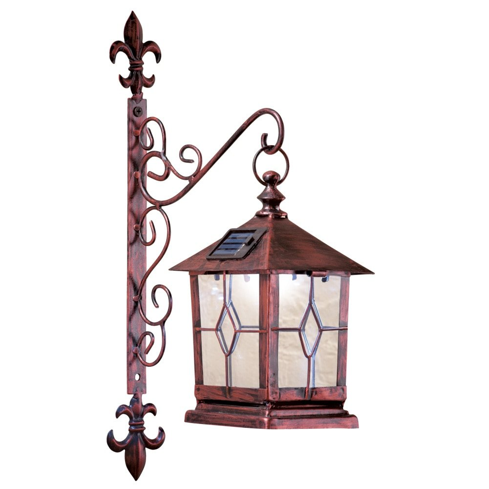 solar powered decorative lanterns 70 decorative coach style solar wall lantern 5594