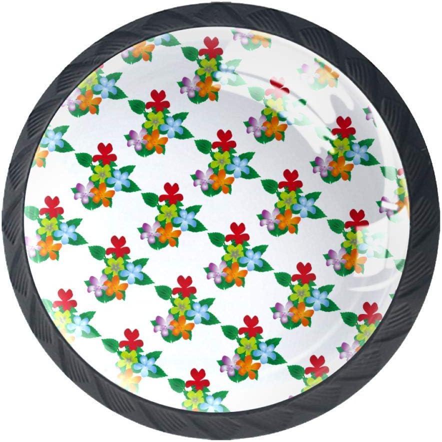 Cajonera con asas para cajones y cajones de cocina, con asas de sujeción, color rojo y verde, Flores rojas, 3.5×2.8CM/1.38×1.10IN: Amazon.es: Bricolaje y herramientas