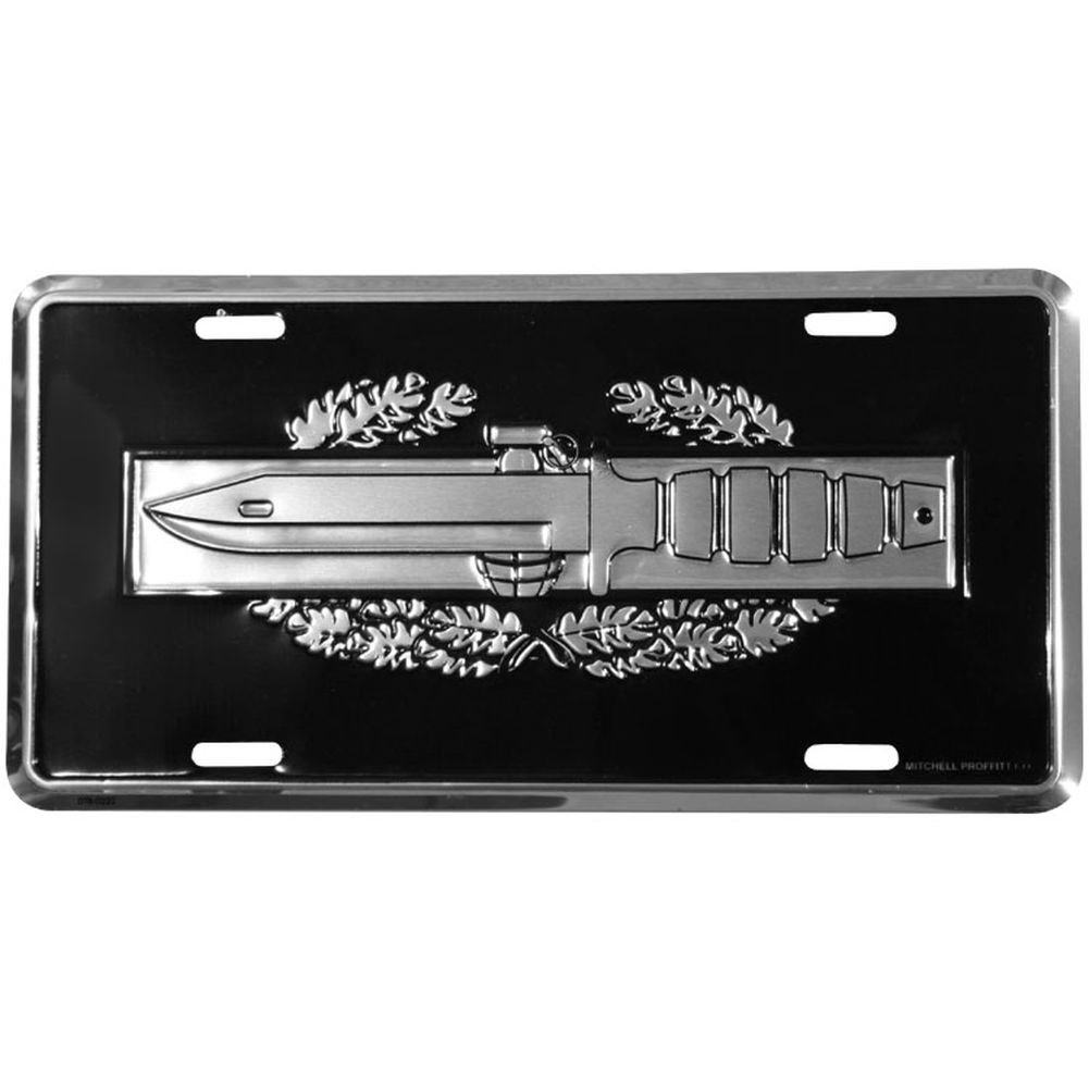 Honor Country Combat Action Badge License Plate Mitchell Proffitt