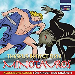 Theseus besiegt den Minotauros
