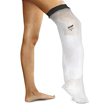 waterproof leg cover above knee leg cast dressing protector