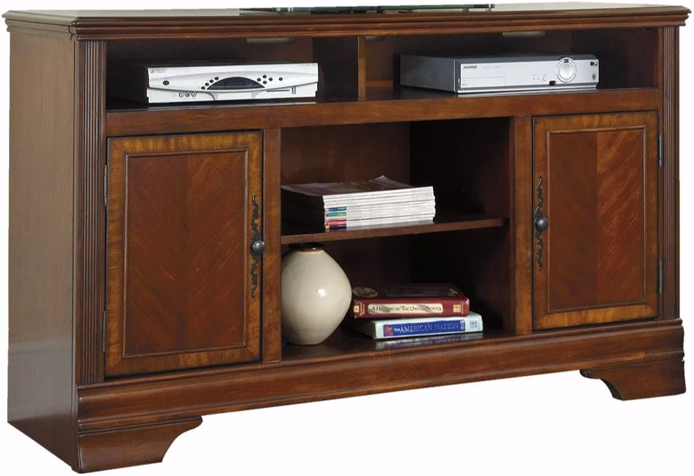 "Signature Design by Ashley Hamlyn Collection TV Stand, 60"", Dark Brown"
